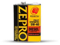 Масло моторное IDEMITSU ZEPRO DIESEL FULLY SYNTHETIC 5W40 CF 4L