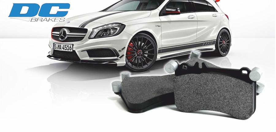 STtuning спортивные тормозные колодки для Mercedes A45 / CLA45 AMG Hawk Performance DC Brakes