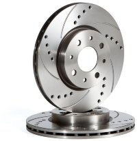 Диск тормозной OmniCompetition перф.+насечки VP700 перед. 314mm AUDI A6 4F